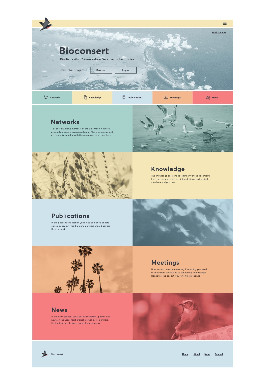Bioconsert-Homepage