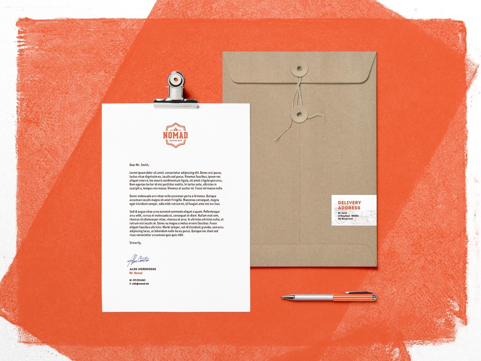 Nomad-PogonWeb-Envelope